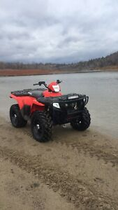 "Polaris Sportsman 14"" SS rims with tires"