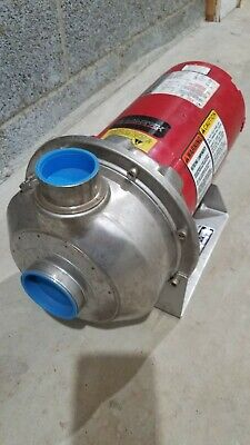 Bell And Gossett Series 3530 Pump Franklin Electric Motor 2 Hp 3 Ph