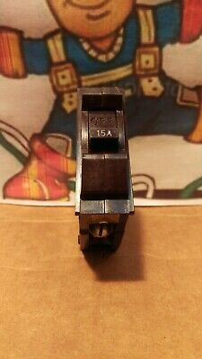 Gegeneral Electric Type R 1 Pole 15a 15 Amp R115 Circuit Breaker