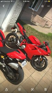 DUCATI 848 A VENDRE 7000kms COMME NEUF 9900$