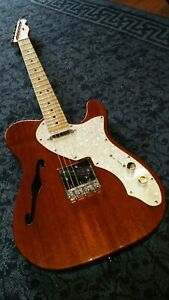 FENDER Telecaster Classic Vibe thinline Squier Fender decal