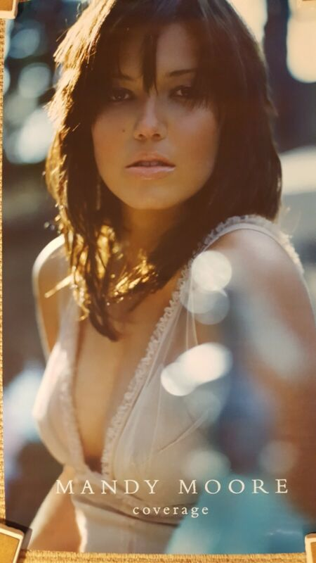 Mandy Moore - Promotional Poster - 14 x 21 - Coverage - rolled - excellent shape