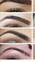 Eyebrows threading and waxing facials only for lady's