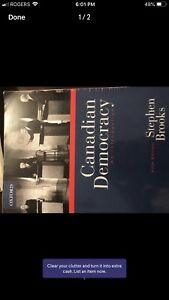 Canadian democracy an introduction 5th ed