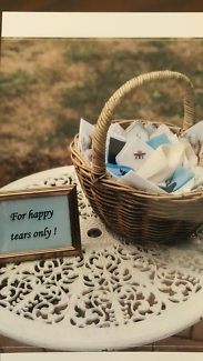 25 x Vintage Handkerchiefs - For Happy Tears only - Wedding