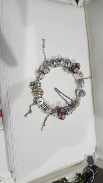 1ec8e0b4fde pandora bracalet with gold and silver charms