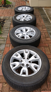 Tyres and Rims for Ford Ranger Wildtrak XLT XLS Modbury Heights Tea Tree Gully Area Preview
