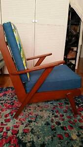 RETRO PARKER ERA Boomerang ARMCHAIR W/NEW FOAM & UPHOLSTERY Dee Why Manly Area Preview