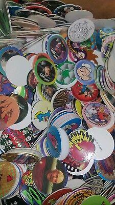 Lot Mix Milk Caps Retro 1990s 200pcs Wholesale Toys POG Game BEST Deal