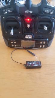 Hitec optic 6 sport 2.4Ghz