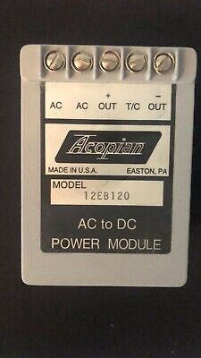 to D.C Power Supply U24Y2300 A.C Acopian Model New Old Stock /<