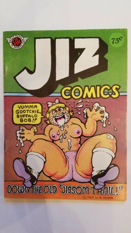 Jiz Comics 1969 ROBERT CRUMB UNDERGROUND COMIX EXCELLENT Condition!