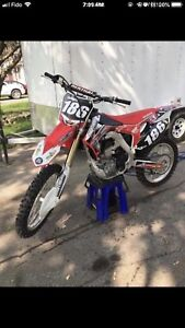 2016 Honda CRF 250r *mint*