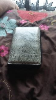 Wallet bag grey coloured