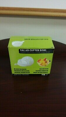 Salad Cutter Bowl, Enjoy A Nutritious Dilicious Salad In 60 Seconds