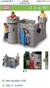 Little tikes castle climber