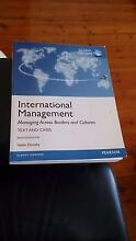 International Management  Managing Across Borders and Cultures Coogee Eastern Suburbs Preview