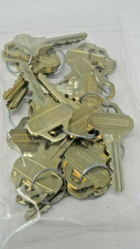 Schlage C235 Factory Cut Keys - 10 Sets (20 keys)