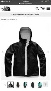 Black North Face Spring Jacket