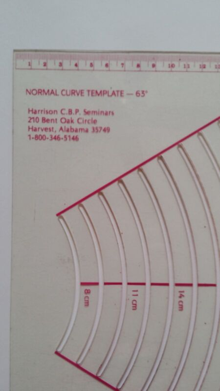 Chiropractic Biophysics Lumbar, Cervical & Orthogonal X-Ray InstrumentTemplates