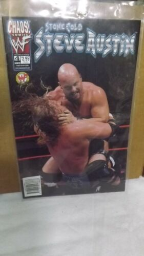 Chaos! Comics WWF Stone Cold Steve Austin # 4 Comic Official Licensed Product