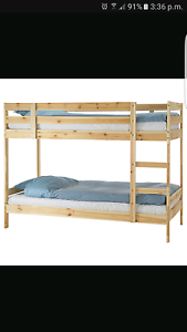 Bunk beds in perth region wa cots bedding gumtree for Gumtree bunk beds