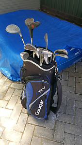 Golf clubs and bag Mawson Lakes Salisbury Area Preview