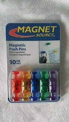 Push Pin Magnets 10-ct.
