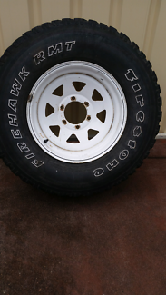 Landcrusier   Patrol  spare wheel