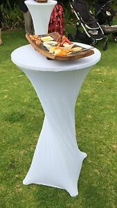Cocktail table hire $20.00 each Upper Swan Swan Area Preview