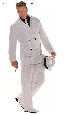 Smooth Criminal Adult Std Adult Men Costume](Smooth Criminal Costume)