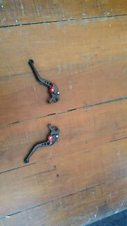 Motercycle levers brake and clutch levers  Paddington Eastern Suburbs Preview