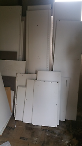 Melamine boards  from built in wardrobe from demolition Picnic Point Bankstown Area Preview