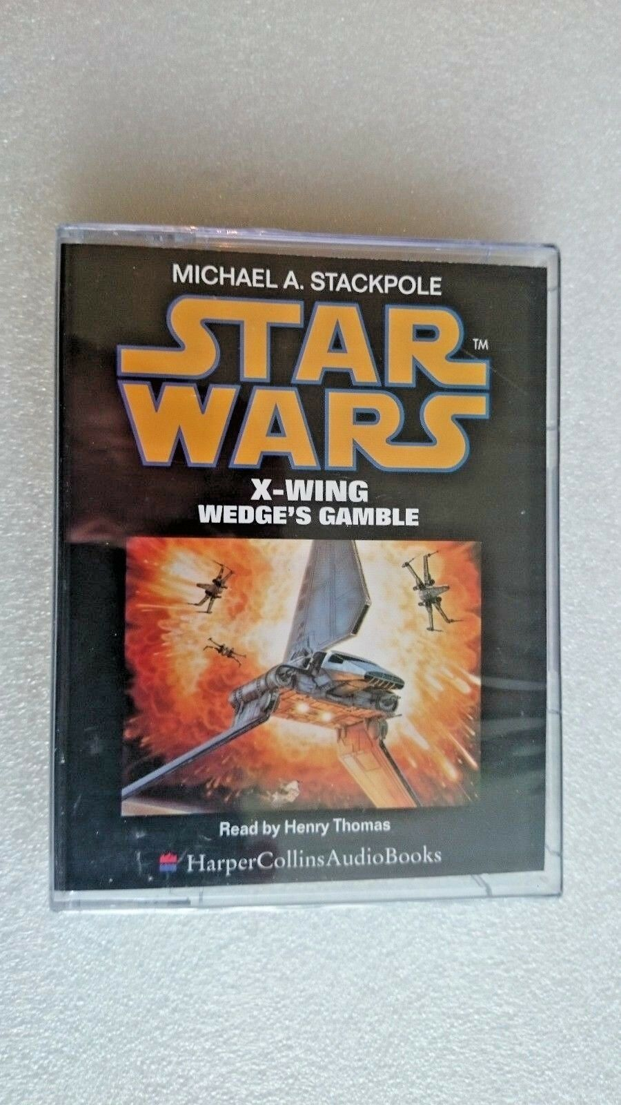 Star Wars: X Wing/Wedge's Gamble by Michael A. Stackpole (Audio cassette, 1997)