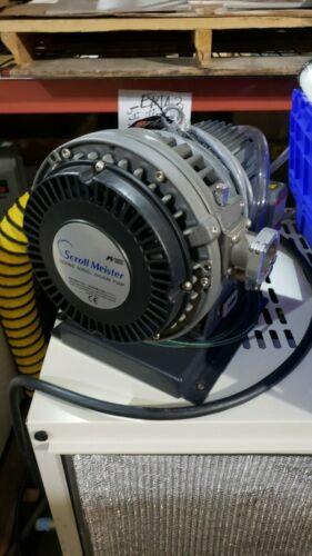 ANEST IWATA ISP-500C Oilfree Scroll Meister Dry Vacuum Pump