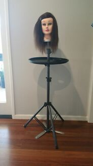 Hairdresser mannequin head and tripod.100% human hair. Never used Fig Tree Pocket Brisbane North West Preview