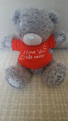 Carte Blanche Me To You Tatty Teddy Blue Nose Bear.I Love You.Gift for loved one