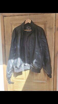 Brave Soul Mens Faux Leather Jacket