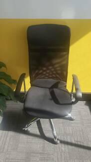 High Back Mesh Ergonomic Office Chair x 3 Avail