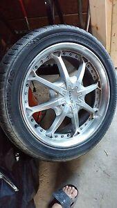 """4x 20"""" Rims & Tires 265/45R-20"""