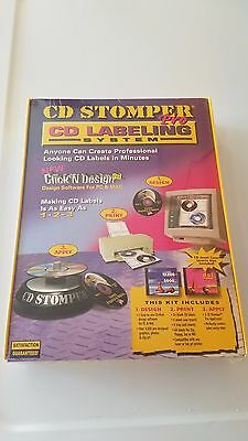 Cd Stomper Pro Cd Labeling System - New Sealed D
