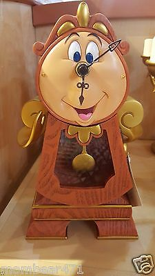 Disney Parks Beauty and  the Beast Cogsworth Clock