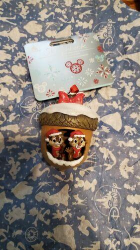 DISNEY CHIP N DALE sketchbook acorn Christmas ornament 2020 NEW READ **DAMAGED**