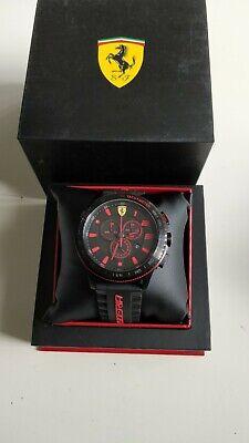 *Low Price* Scuderia Ferrari 0830138 Men's CHRONOGRAPH ANALOG SPORTS WATCH