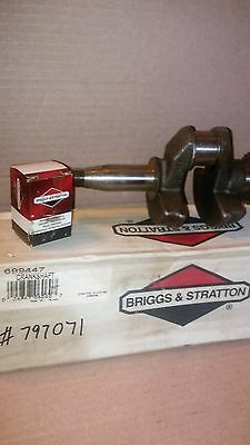 Genuine Briggs and Stratton 699447 797071 Crankshaft