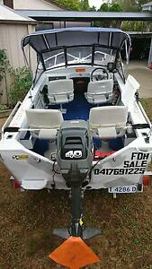 4.1m Ally Craft Boat and Trailer Kambah Tuggeranong Preview