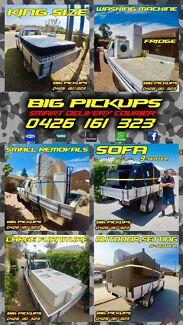 Ute Courier Big Pickups Delivery Small Removals Ute Trailer Hire