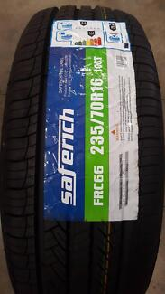 235/70R16 NEW TYRES $130.00