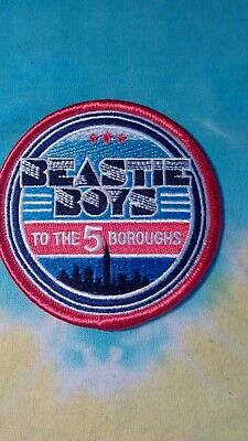 Beastie Boys To The 5 Boroughs 3 Inch Iron On Patch