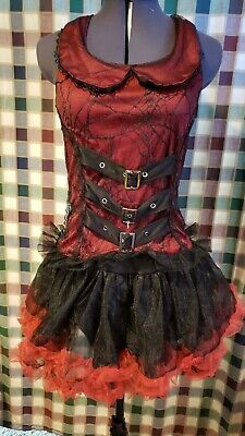 Steampunk Costume 2pc Halloween Child 12-14 Size Medium